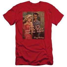 CRY BABY KISS ME - S/S ADULT 30/1 - RED - 2X - RED T-Shirt