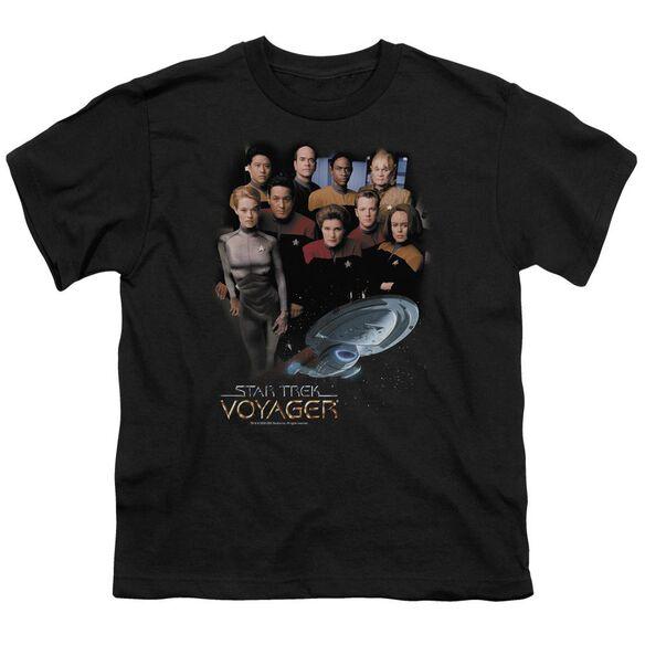 Star Trek Voyager Crew Short Sleeve Youth T-Shirt