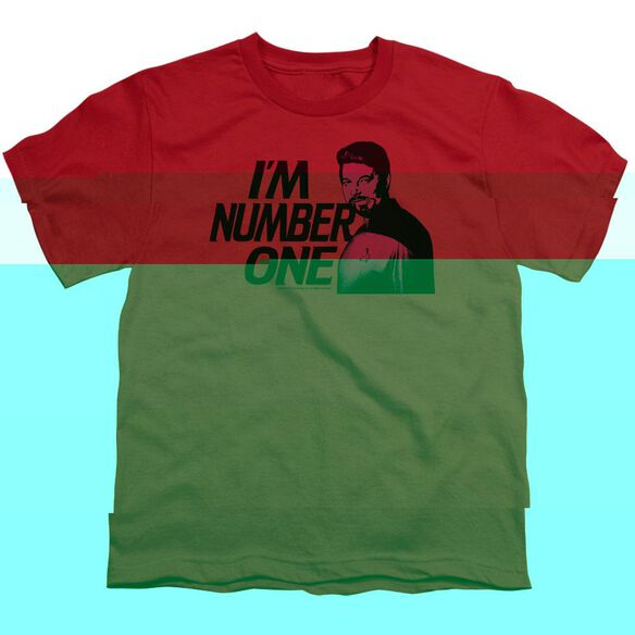 STAR TREK IM NUMBER ONE - S/S YOUTH 18/1 - RED T-Shirt