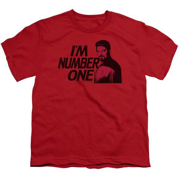 Star Trek Im Number One Short Sleeve Youth T-Shirt