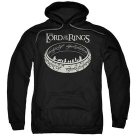 Lord Of The Rings The Journey Adult Pull Over Hoodie