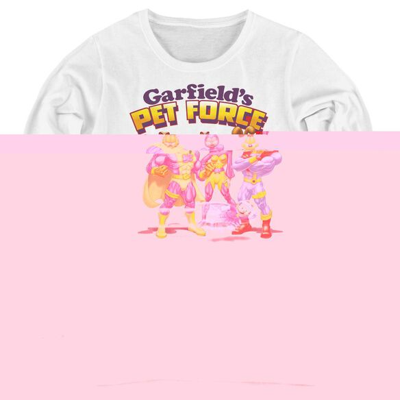 Garfield Heroes Await-womens Long