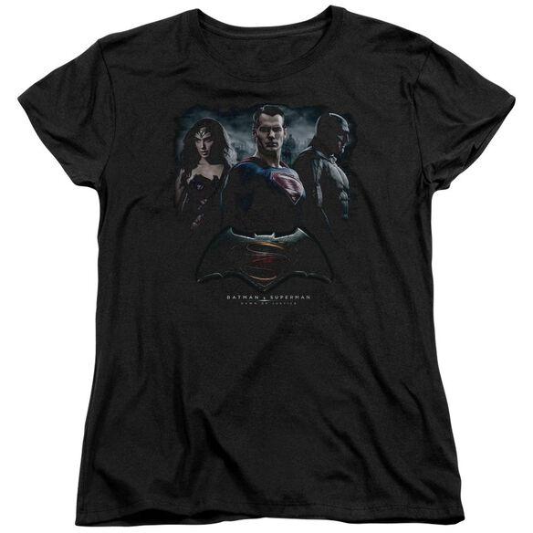 Batman V Superman The Crew Short Sleeve Womens Tee T-Shirt