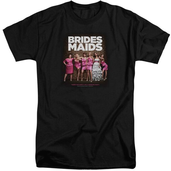 Bridesmaids Poster Short Sleeve Adult Tall T-Shirt