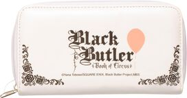 Black Butler Book of Circus Balloons Clutch Wallet
