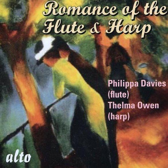 Philippa Davies - Romance of the Flute & Harp
