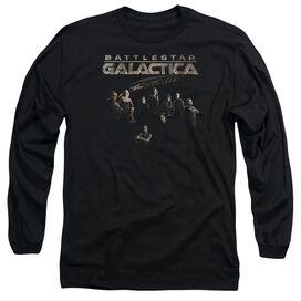 BATTLESTAR GALACTICA BATTLE CAST- L/S ADULT T-Shirt