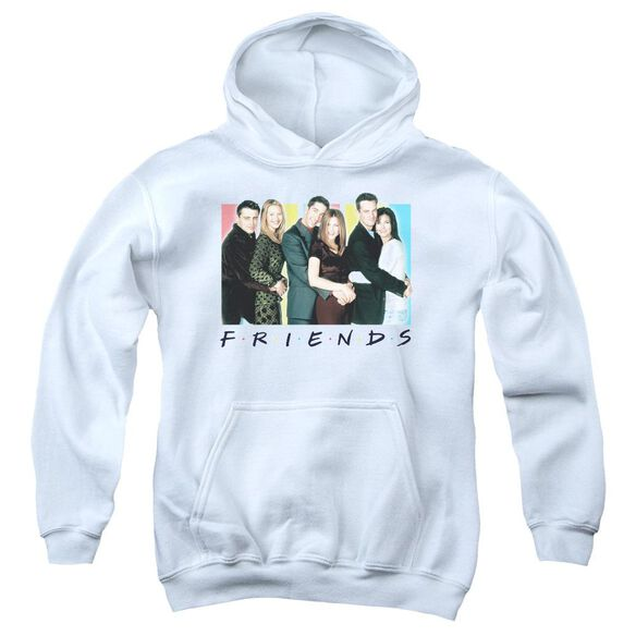 Friends Cast Logo Youth Pull Over Hoodie