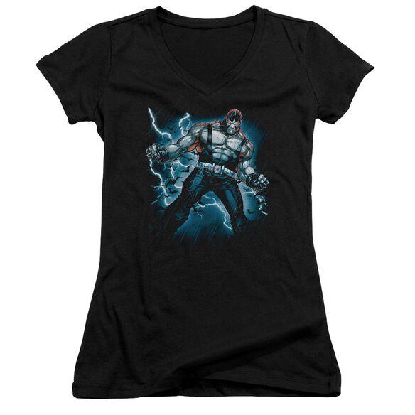 Batman Stormy Bane - Junior V-neck - Black