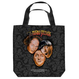 Moe Howard, Jerome Howard And Larry Fine Stooges All Over Tote