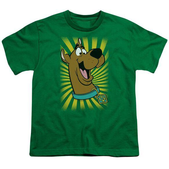 Scooby Doo™ T Shirt Short Sleeve Youth Kelly T-Shirt