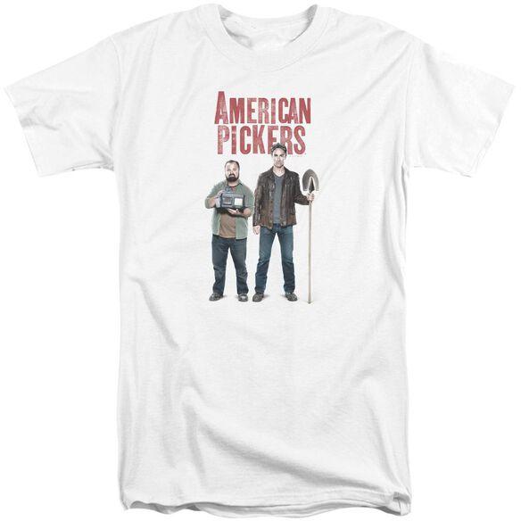 American Pickers American Profit Short Sleeve Adult Tall T-Shirt