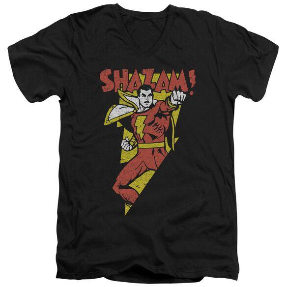 Dc In Bolt Short Sleeve Adult V Neck T-Shirt