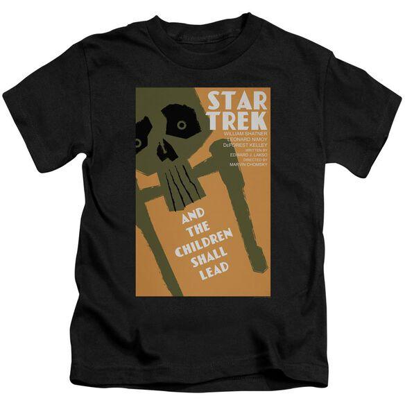 Star Trek Tos Episode 59 Short Sleeve Juvenile Black Md T-Shirt