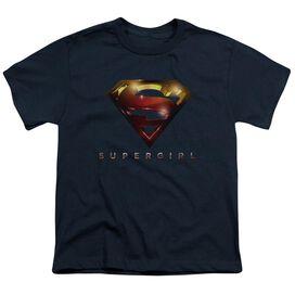 Supergirl Logo Glare Short Sleeve Youth T-Shirt