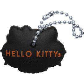 Hello Kitty Leopard Bow Key Cap Keychain
