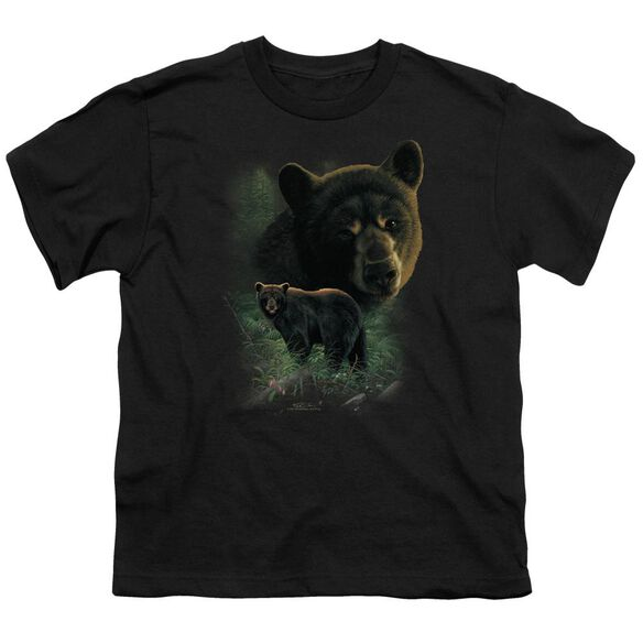 Wildlife Bears Short Sleeve Youth T-Shirt