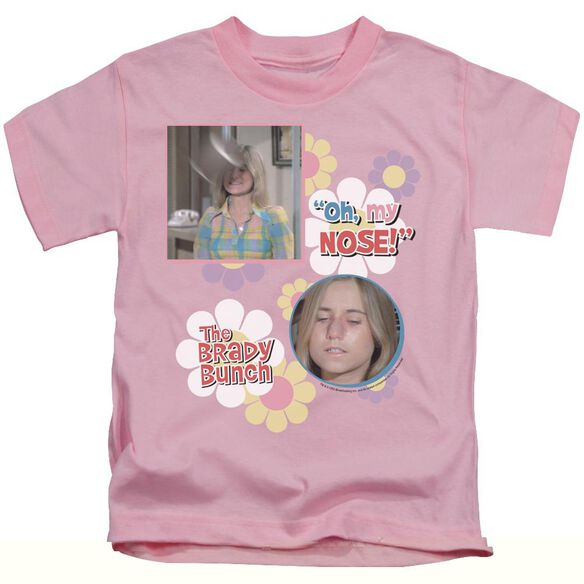 BRADY BUNCH OH, MY NOSE! - S/S JUVENILE 18/1 - PINK - T-Shirt