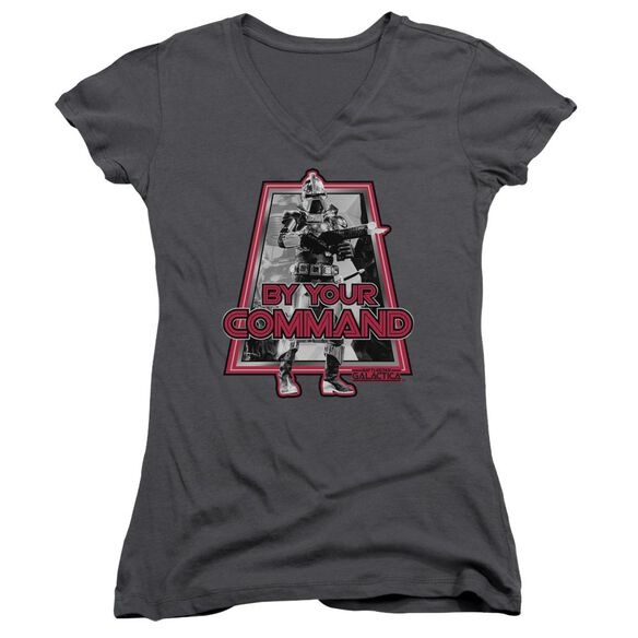 Bsg By Your Command(Classic) Junior V Neck T-Shirt