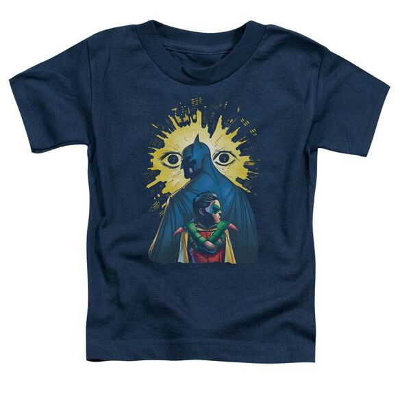 Batman Watchers Short Sleeve Toddler Tee Navy T-Shirt