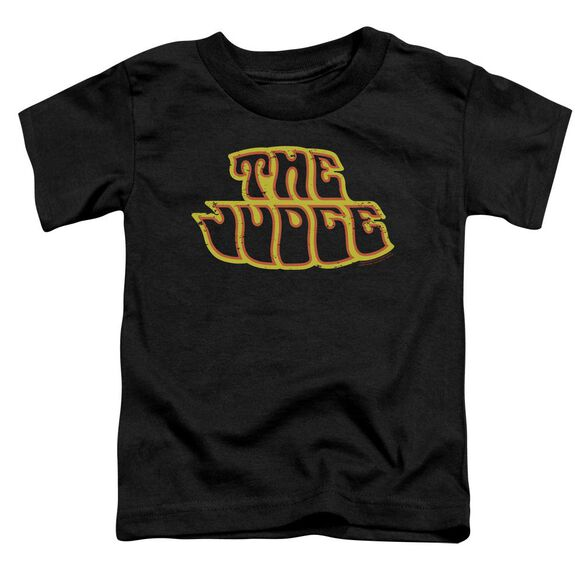 Pontiac Judge Logo Short Sleeve Toddler Tee Black T-Shirt