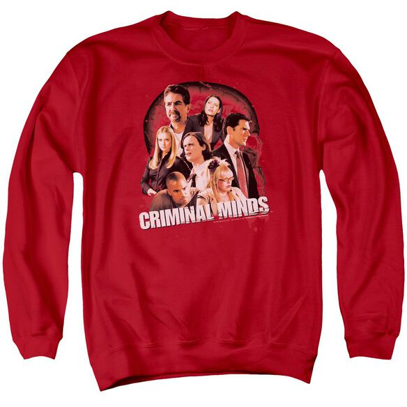 Criminal Minds Brain Trust Adult Crewneck Sweatshirt