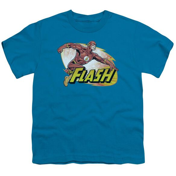 Jla Flash Zoom Short Sleeve Youth T-Shirt