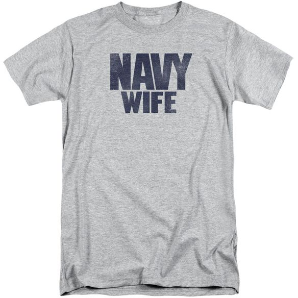 Navy Wife Short Sleeve Adult Tall Athletic T-Shirt