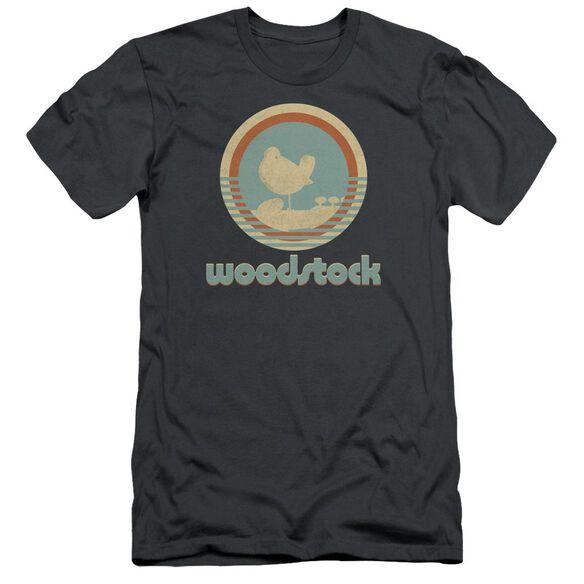 Woodstock Bird Circle Short Sleeve Adult T-Shirt