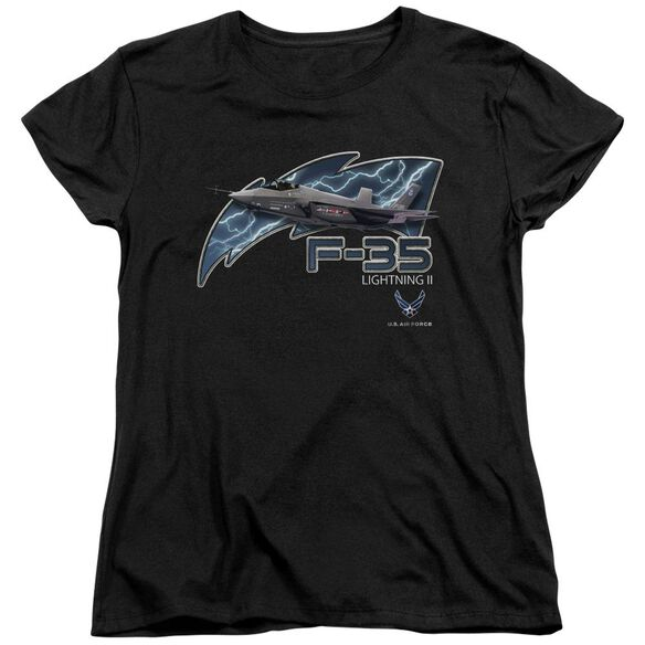 Air Force F35 Short Sleeve Womens Tee T-Shirt