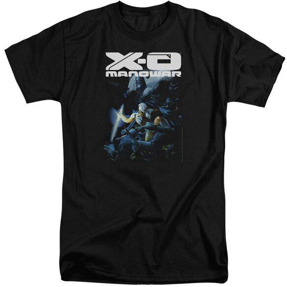 Xo Manowar By The Sword Short Sleeve Adult Tall T-Shirt