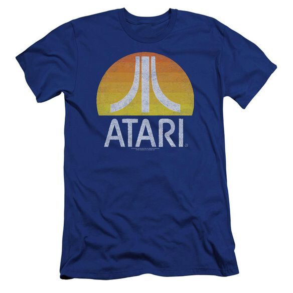 Atari Sunrise Eroded Premuim Canvas Adult Slim Fit Royal