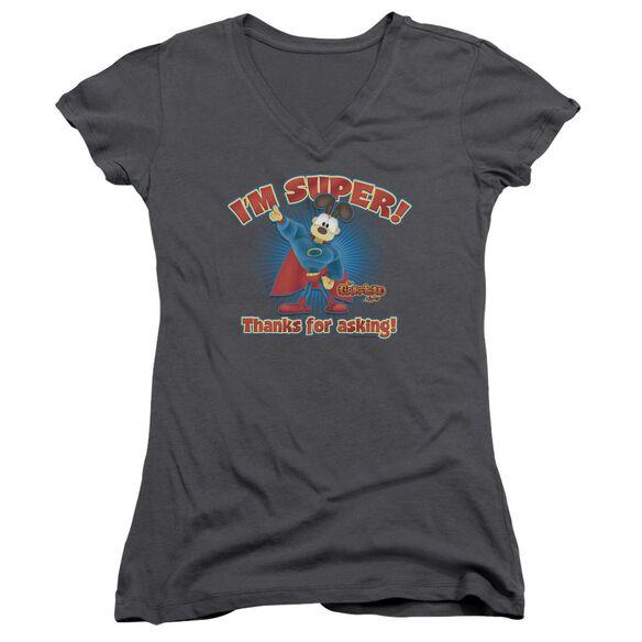 Garfield Super Junior V Neck T-Shirt