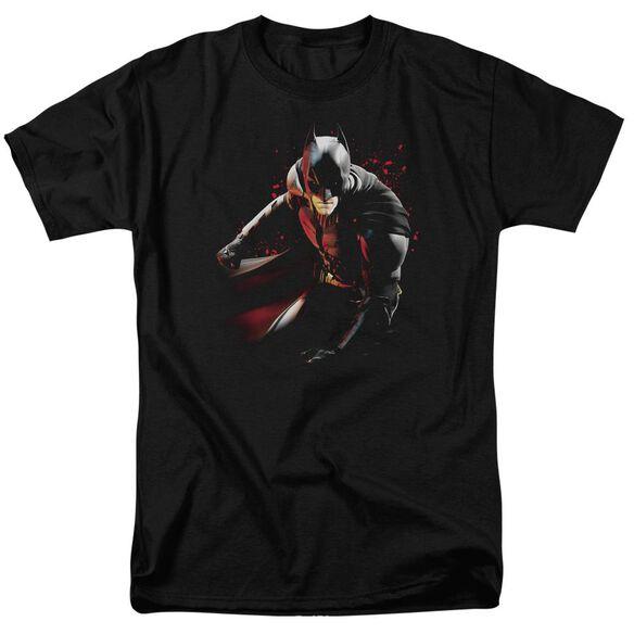 Dark Knight Rises Ready To Punch Short Sleeve Adult Black T-Shirt