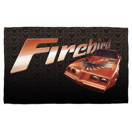 Pontiac Firebird Towel White