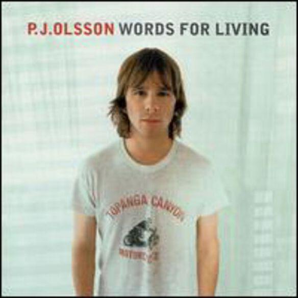 Pj Olsson - Words for Living