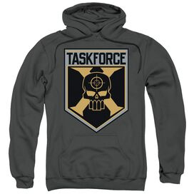 Suicide Squad Taskforce Shield Adult Pull Over Hoodie