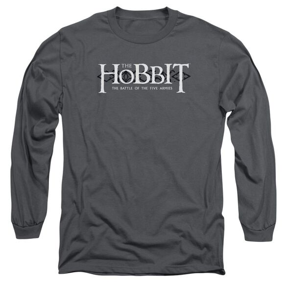 Hobbit Ornate Logo Long Sleeve Adult T-Shirt