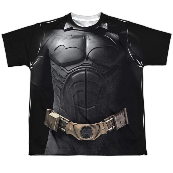 Batman Begins Begins Costume Short Sleeve Youth Poly Crew T-Shirt