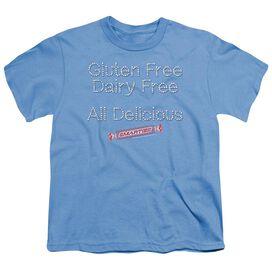 Smarties Free & Delicious Short Sleeve Youth Carolina T-Shirt