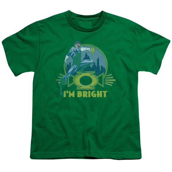Lantern I'm Bright Short Sleeve Youth Kelly T-Shirt
