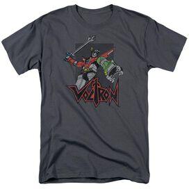 Voltron Roar Short Sleeve Adult T-Shirt