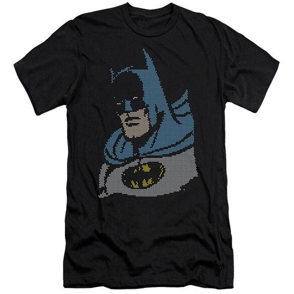 Dc Lite Brite Batman Short Sleeve Adult T-Shirt