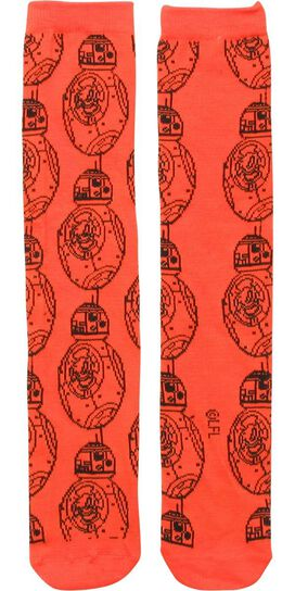 Star Wars BB8 All Over Socks