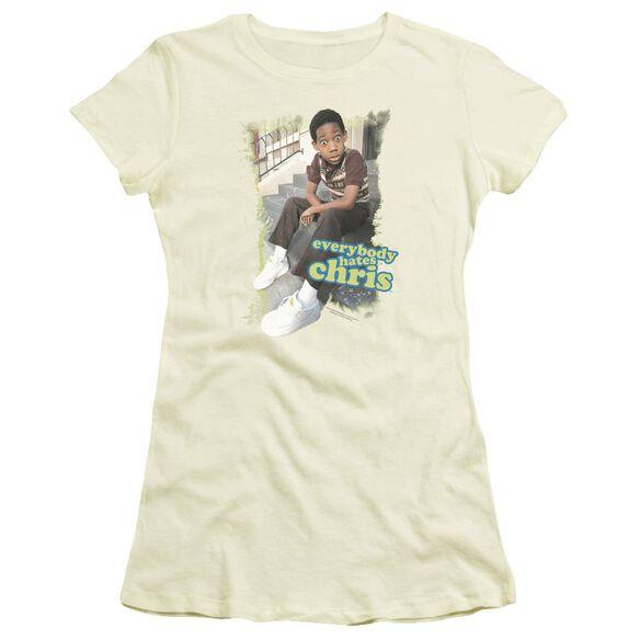 Ehc Everybody Hates Chris Short Sleeve Junior Sheer T-Shirt