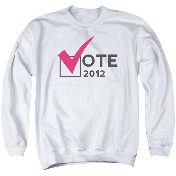 Vote 2012 Adult Crewneck Sweatshirt