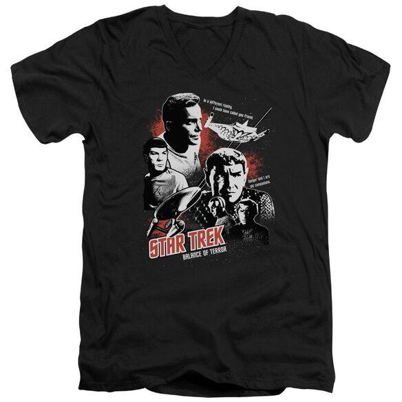 Star Trek Balance Of Terror Short Sleeve Adult V Neck T-Shirt