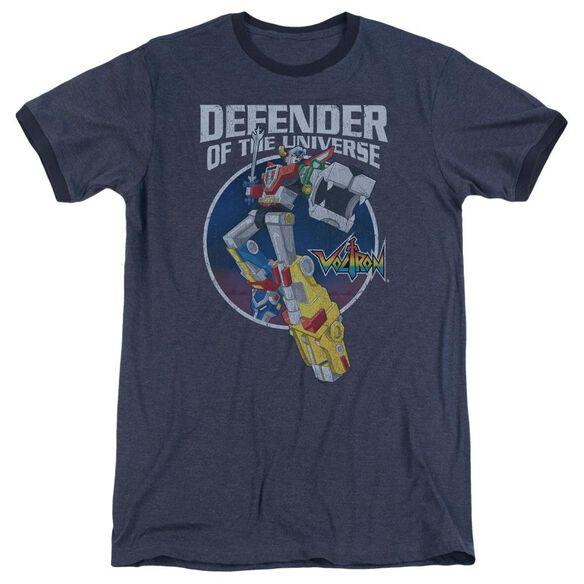 Voltron Defender Adult Heather Ringer Navy