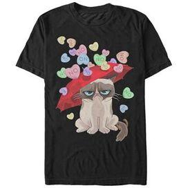 Grumpy Cat NO Hearts T-Shirt