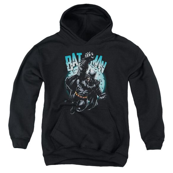 Batman Moon Knight Youth Pull Over Hoodie
